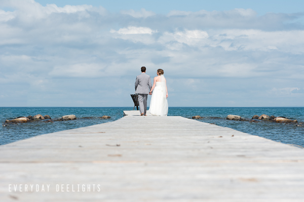 Georgian Bay Lakeside Wedding // Katie + Chris